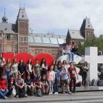 Les élèves de troisième à Amsterdam