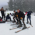 Sortie ski alpin