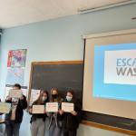 Escape waste
